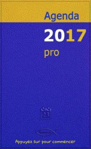 Couverture jaune et bleue comme un vrais agenda papier